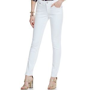 Cremieux white skinny jeans